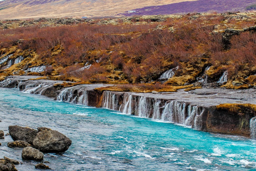 Natural springs in Iceland