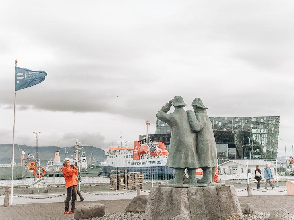 Seafront in Reykjavik