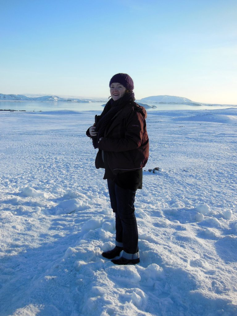 Me on a glacier in Iceland
