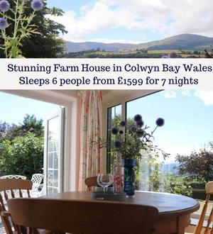 Farmhouse in Colwyn Bay